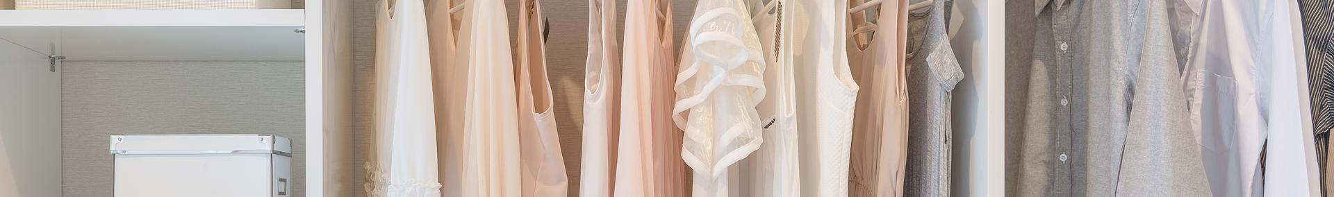 Różowa garderoba